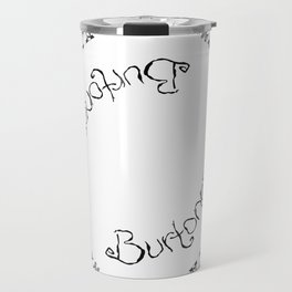 Burtonesque Circle Travel Mug