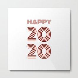 Happy 2020 Metal Print