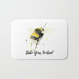 Shake Your Beehind - Punny Bee Bath Mat