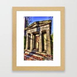 Kensal Green Mausoleum Framed Art Print