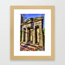 Kensal Green Mausoleum Framed Art Print