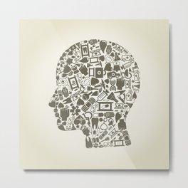 Head medicine Metal Print