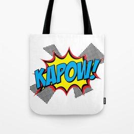 KAPOW – Comic Sounds Tote Bag