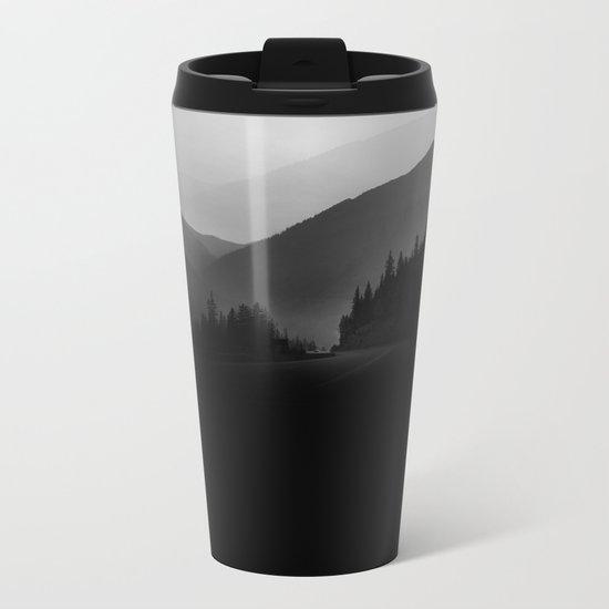Dusky Mountains Metal Travel Mug