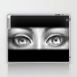 B&W Girl Laptop & iPad Skin