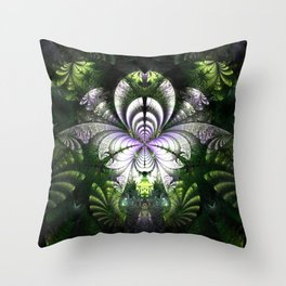 Realm of the Woodland Elves Throw Pillow