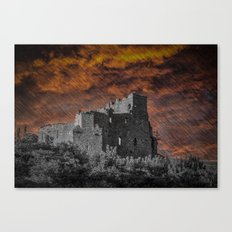 St. John's Castle, Carlingford, Rep. of Ireland Canvas Print