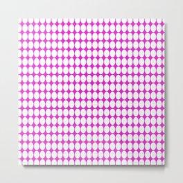 vanille pink ish Metal Print