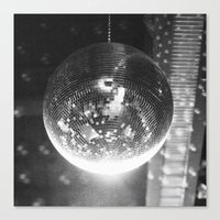 disco Canvas Prints featuring Disco by ....