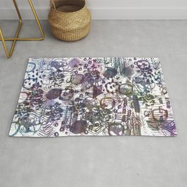 Chaotic Mind  Rug