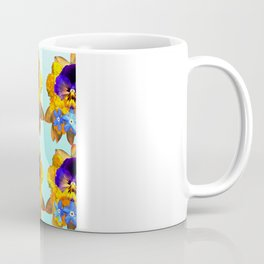 Royal Pansy Coffee Mug
