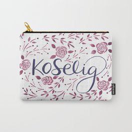 Koselig - Burgundy Carry-All Pouch