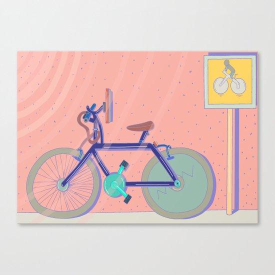 Bike Paths Canvas Print