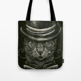 Classy Cat Tote Bag