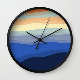 DISCOVERY ARRIVES IN LAYERS ... Wall Clock