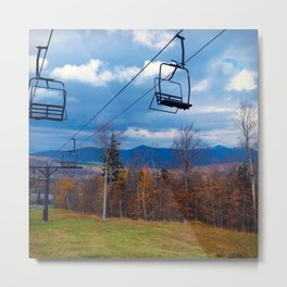 Fall Colors on Sugarloaf Mountain in Maine Metal Print