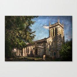 St Nicholas Church Sulham Canvas Print