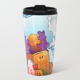 Art Water Travel Mug