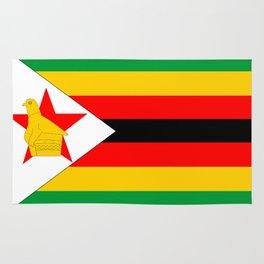 Zimbabwe country flag Rug