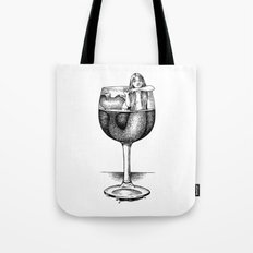 House Red With Mermaid Tote Bag