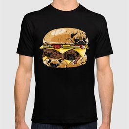 Pugs Burger T-shirt