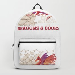 Dragon And Book Backpack