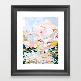alpine Framed Art Print