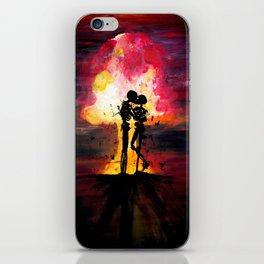 Atomic Kiss iPhone Skin
