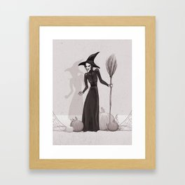 Wicked Witch of the West Framed Art Print