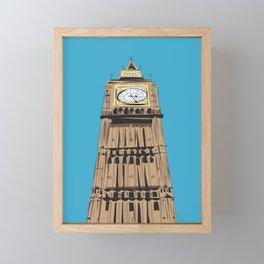 London Big Ben Framed Mini Art Print