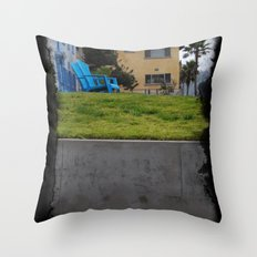 House on The Esplanade Throw Pillow