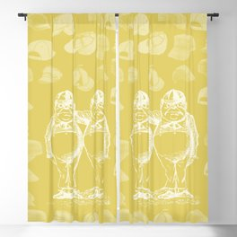 Tweedledum, Tweedledee and Caps Blackout Curtain