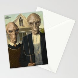American Greys Stationery Cards
