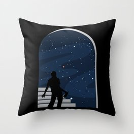 Drunk Universe Throw Pillow