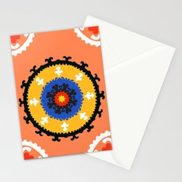 Bold and bright beauty of suzani patterns ver.8 Stationery Cards