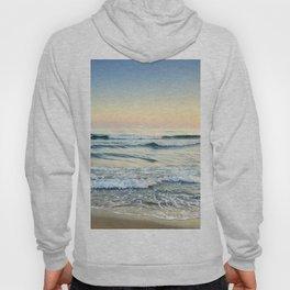 Serenity sea. Vintage. Square format Hoody