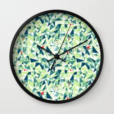 Moment Pattern Wall Clock