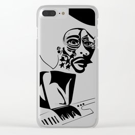 Herbie Hancock Sketch Clear iPhone Case