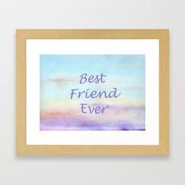best friend ever Framed Art Print