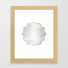 Poly Forest Framed Art Print