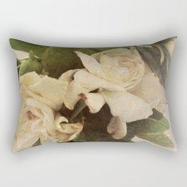 Rustic Floral Rectangular Pillow