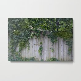 The Green Can Never Be Blocked Metal Print