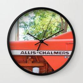 Allis - Chalmers Vintage Tractor Wall Clock