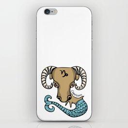 Capricorn Goat Fish iPhone Skin