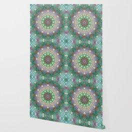Bee Garden Mandala Wallpaper