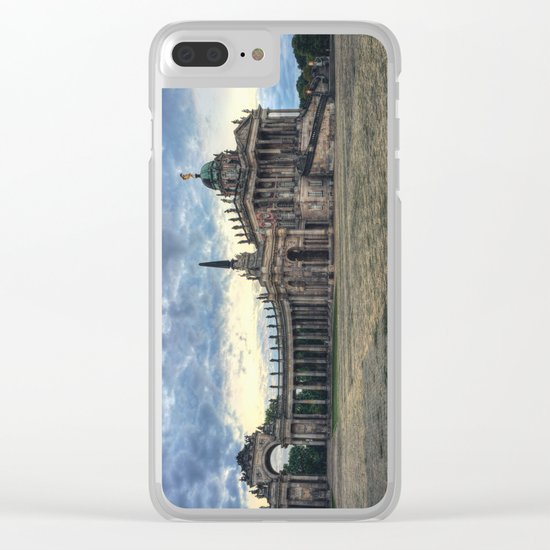 Neues Palais at dusk Clear iPhone Case