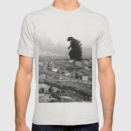 Old Time Godzilla T-shirt
