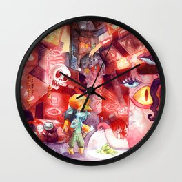 Spaceport Janitor Wall Clock
