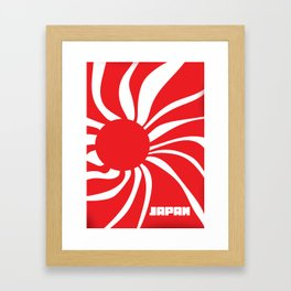 Land of the Rising Sun - Japan Framed Art Print