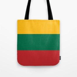 Lithuania National Flag Tote Bag